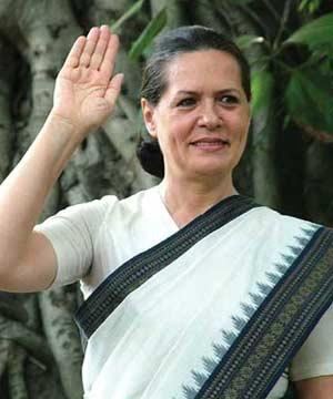 Congress President Sonia Gandhi Photos