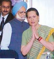 Sonia Gandhi and Manmohan singh  pics