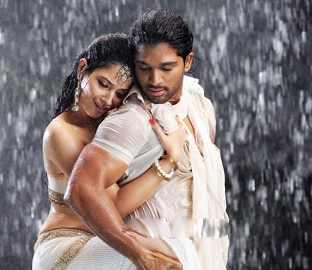 Allu Arjun and Tamanna Hot Stills in Badrinath