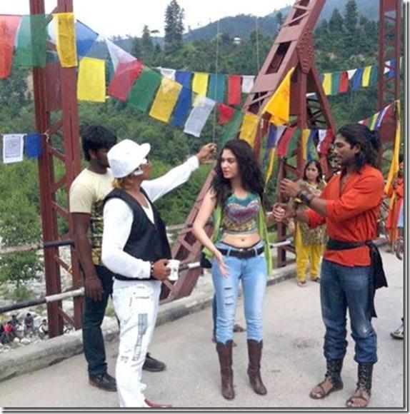 Badrinath telugu movie tamanna allu arjun shooting parts stills