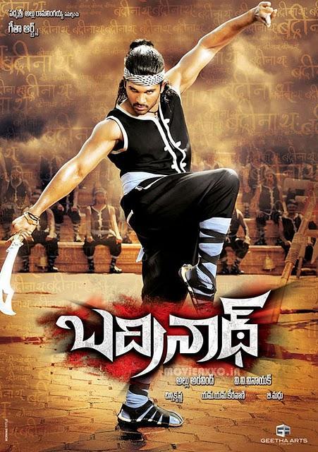 Badrinath movie poster allu arjun stills