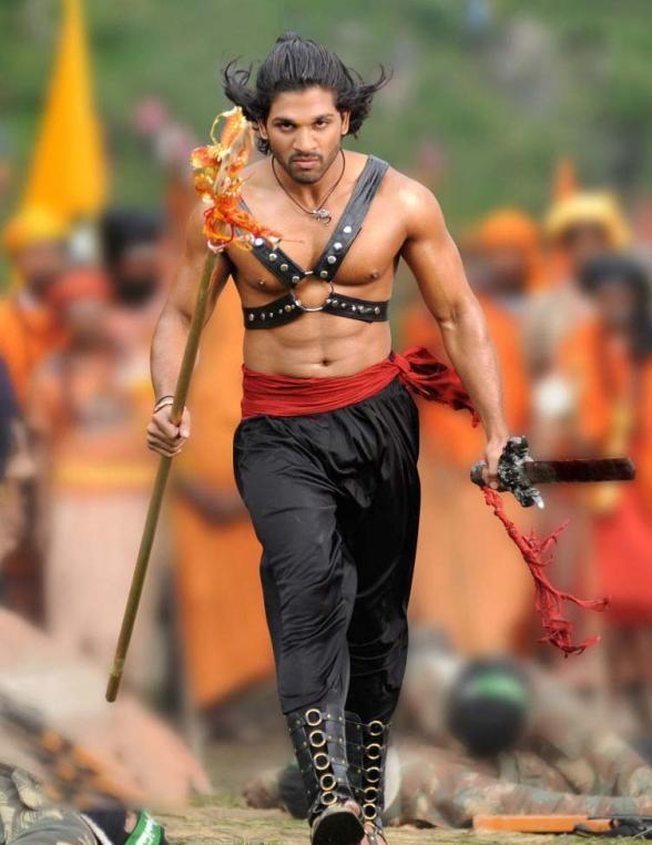 Badrinath Allu Arjun Angry stills
