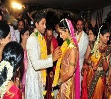 Allu Arjun and sneha reddy marriage photos