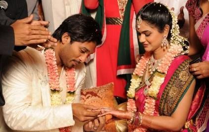 Allu Arjun Engagement with Sneha Reddy photo
