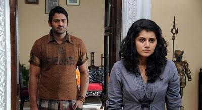 Prabhas and tapsee angry stills by mr perfect