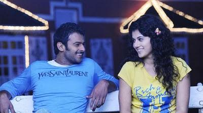 Mr Perfect prabhas tapsee smilling face pictures