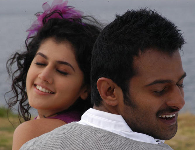 Prabhas and Tapsee mr perfect hot stills