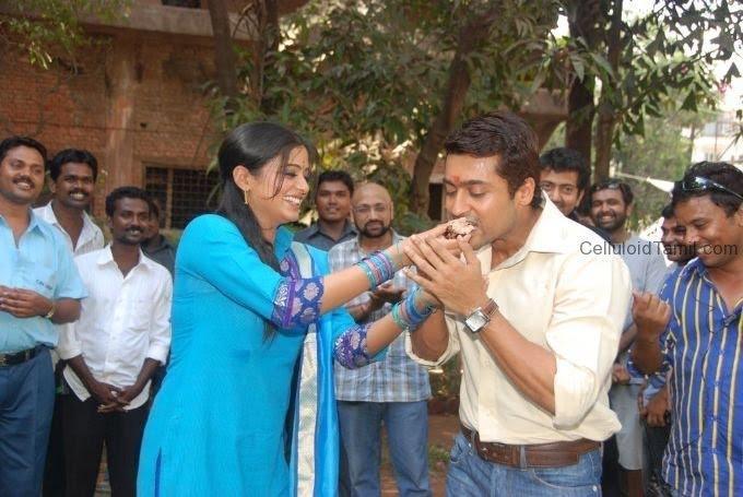 Surya priyamani raththa charithram birthday pictures