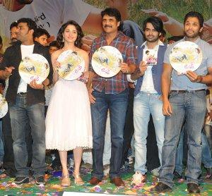 Tamanna at love telugu movie audio launch