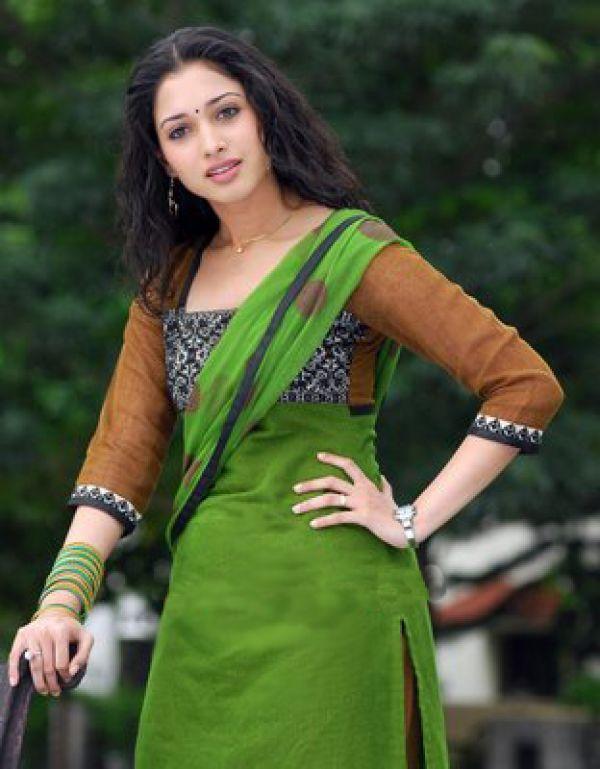 Tamanna Bhatia salwar suit stills