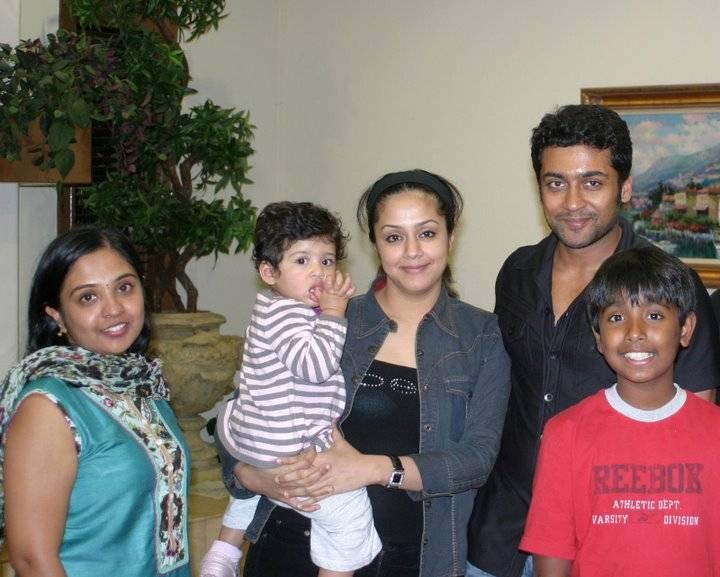 Surya and Jyothika daughter diya photos
