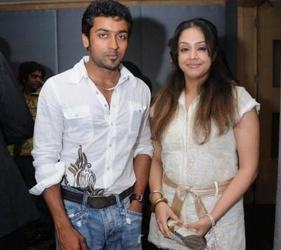 Surya and jyothika filmfare awards party photos