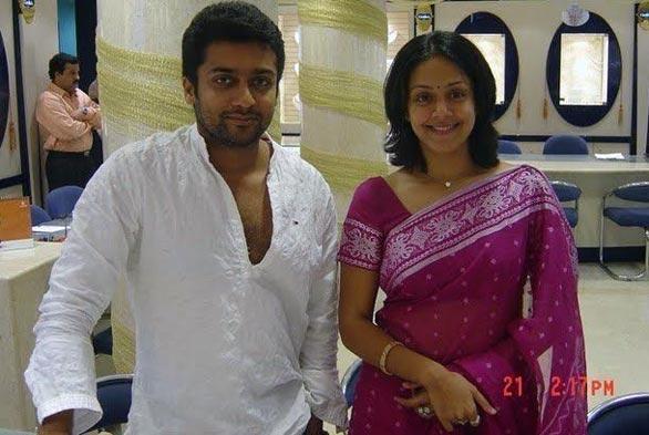 Actor suriya jyothika family photos