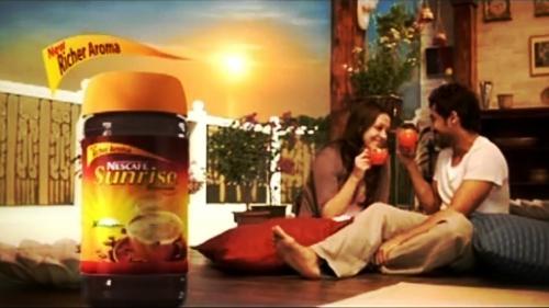 Suriya Jyothika in Nescafe Sunrise Ad