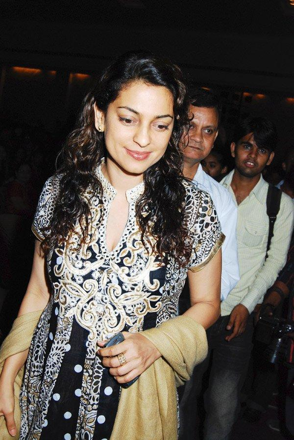 Juhi Chawla in gorgeous dress