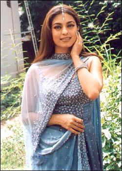 Juhi Chawla beautiful pic in salwar suit