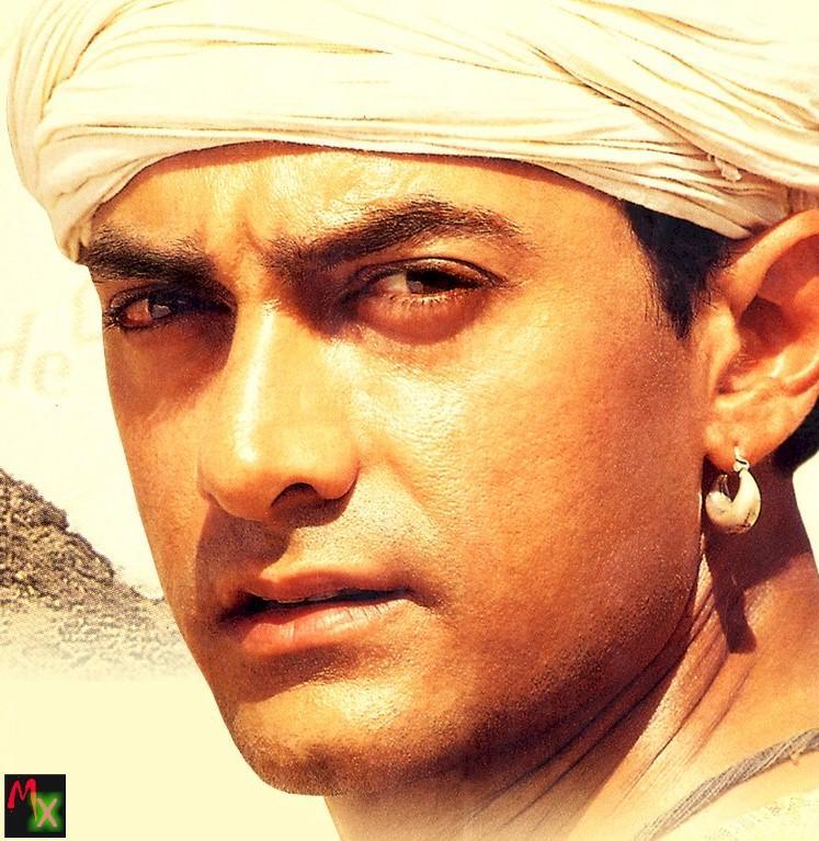 Aamir in Lagaan