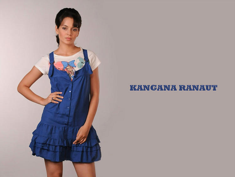 Kangana Ranaut cuttest wallpaper