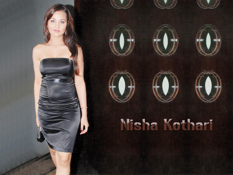 Nisha Kothari gorgeous wallpaper