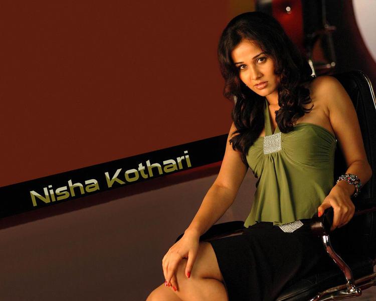 Nisha Kothari hottest wallpaper