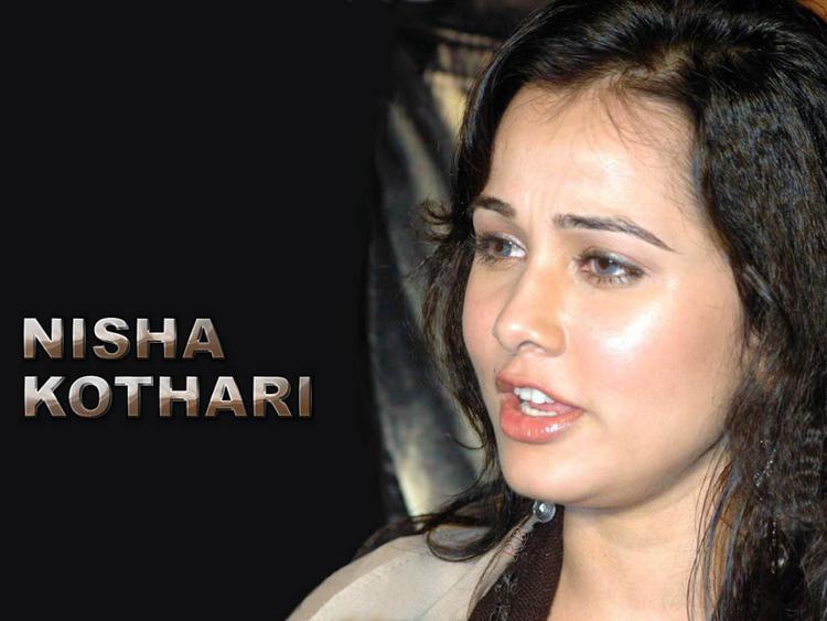 Nisha Kothari sizzling sexy hot wallpaper