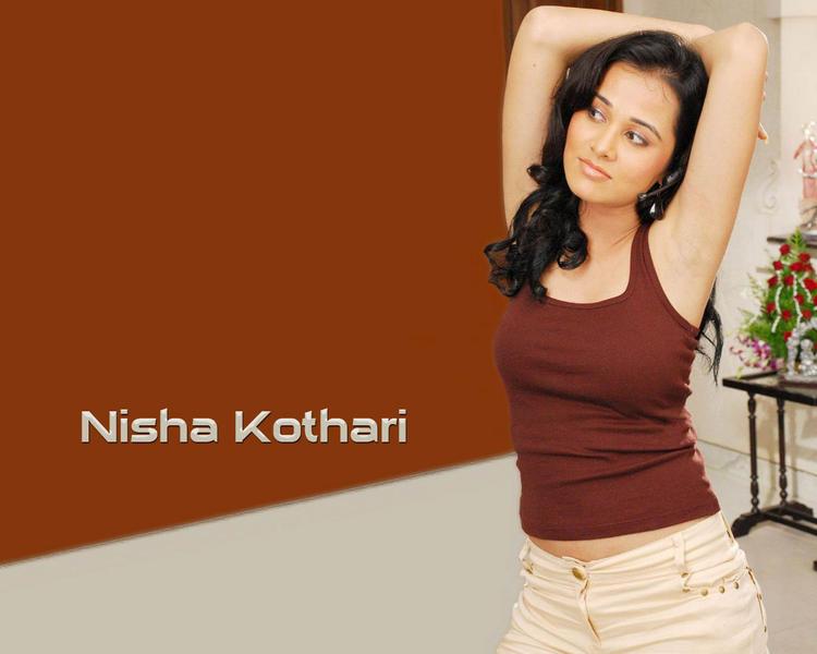 Nisha Kothari sexy figure pics