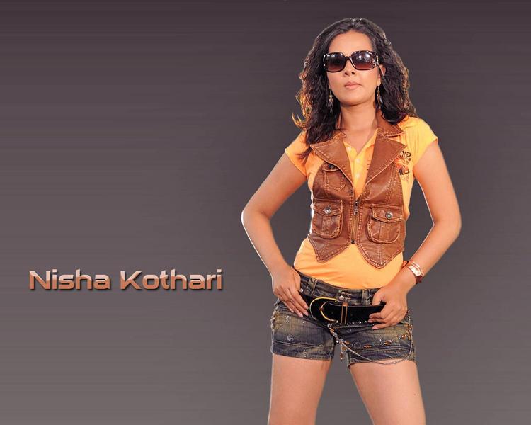 Nisha Kothari latest hot wallpaper