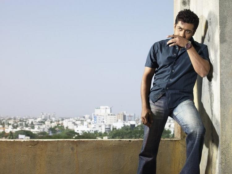 Surya latest romentic stills