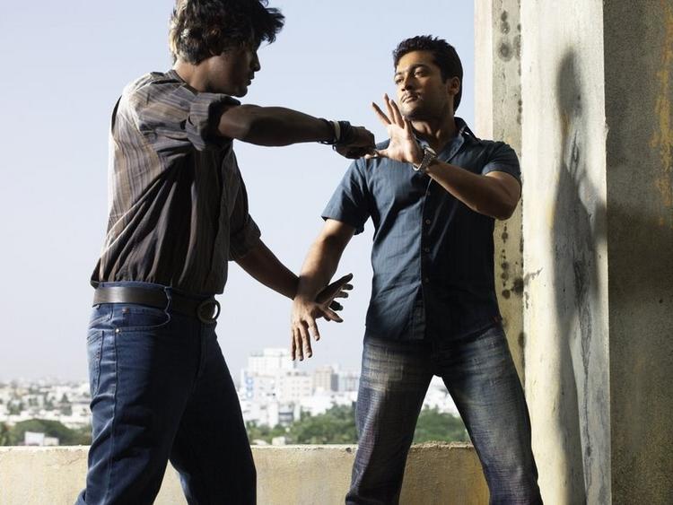 Surya latest film action stills