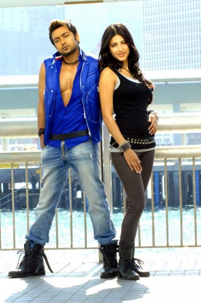 Yelam arivu movie surya and shruti haasan cute pics