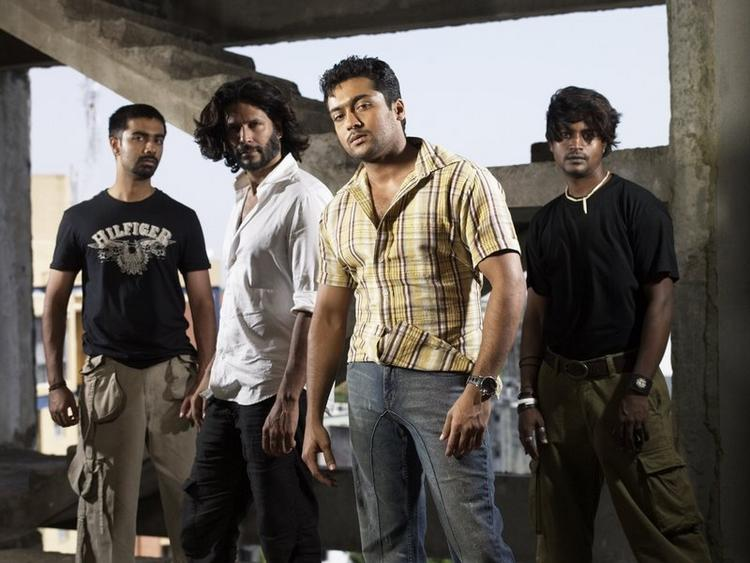 Surya action pictures
