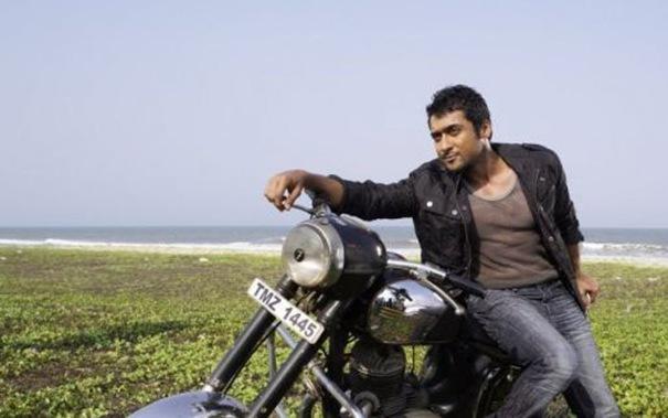 Surya Ezham arivu film bike stills