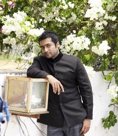 Surya am arivu movie photos with black color drees