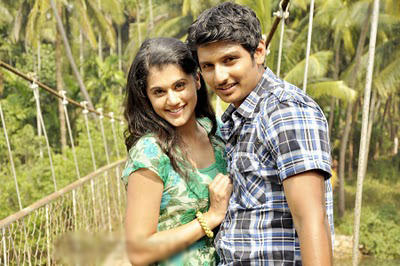Jeeva and tapsee close up stills vandhan vendran