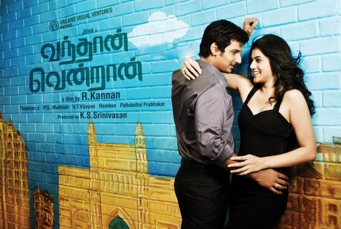 Jeeva and Tapsee romantic stills in vanthaan ventraan