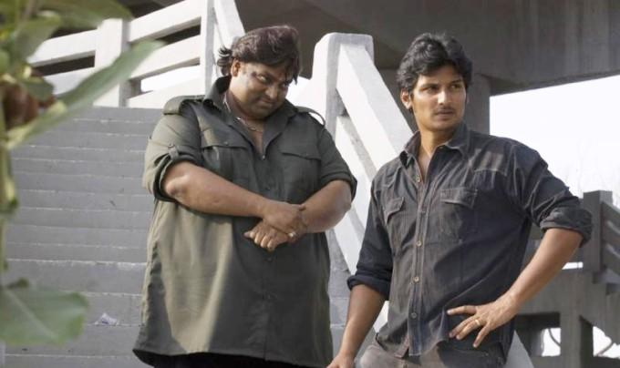 Rowthiram movie jeeva angry still