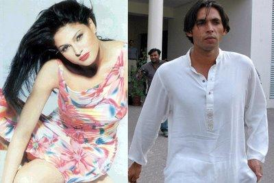 Veena Malik and Mohammed Asif