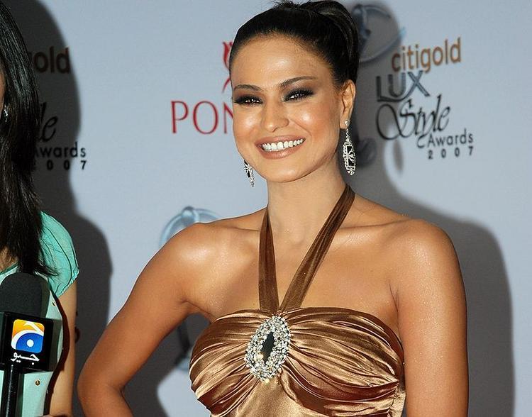 Veena Malik on Red Carpet