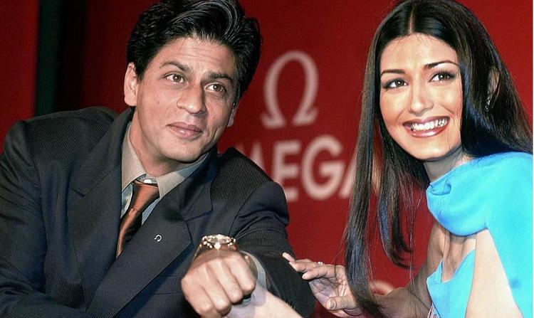 Sonali Bendre pic with Shahrukh Khan