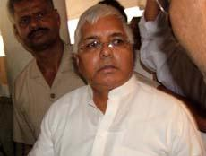 RJD Chief Laloo Prasad Yadav hot look