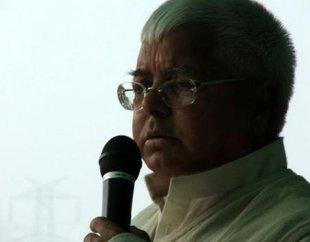 Lalu Prasad Yadav speaks in English