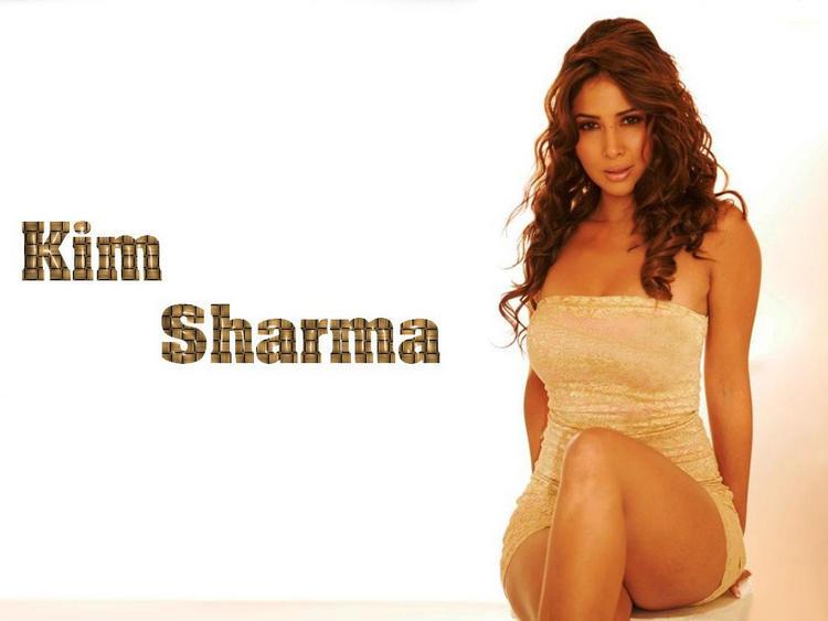 Kim Sharma sexiest wallpaper