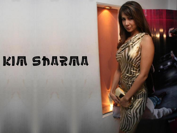 Kim Sharma hot and sexy wallpaper