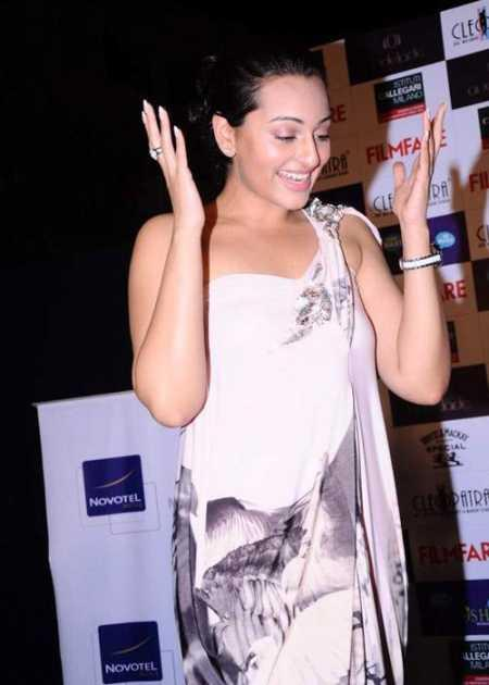 Sonakshi Sinha launch Filmfare latest issue magazine at Novotel