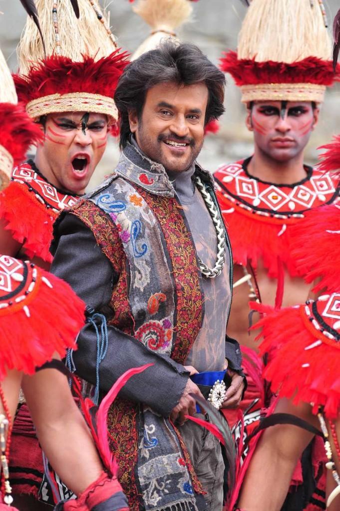 Rajinikanth in Endhiran movie