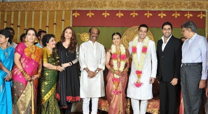 Rajinikanth daughter soundarya marriage photos