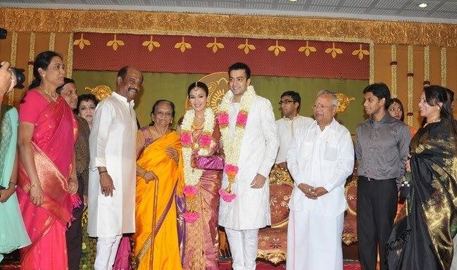 Rajinikanth daughter soundarya marriage pics
