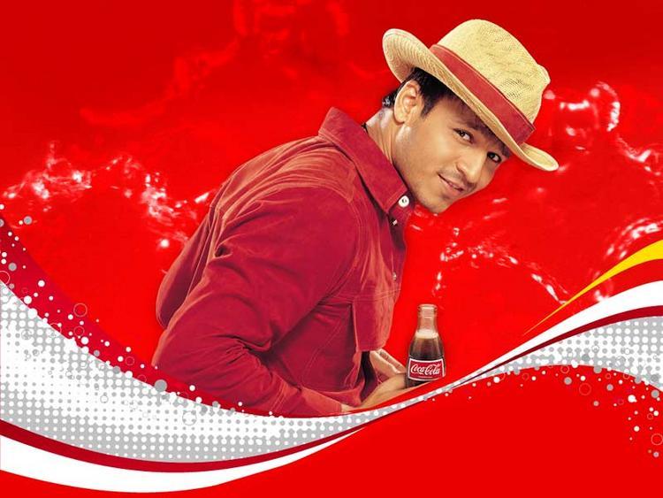 Vivek Oberoi Coca Cola Wallpaper
