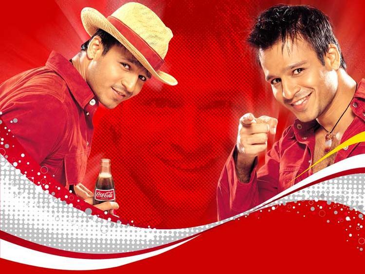 Vivek Oberoi Coca Cola Ads Wallpaper
