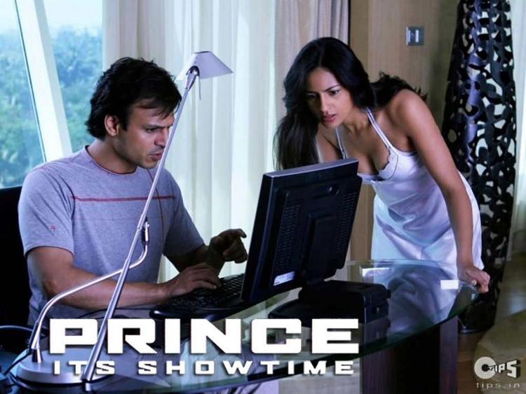 Vivek oberoi shocked in Prince wallpaper